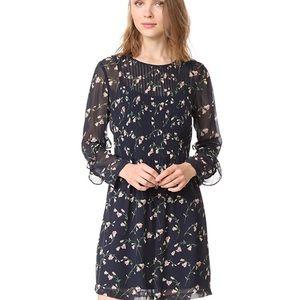 Club Monaco Silk floral dress